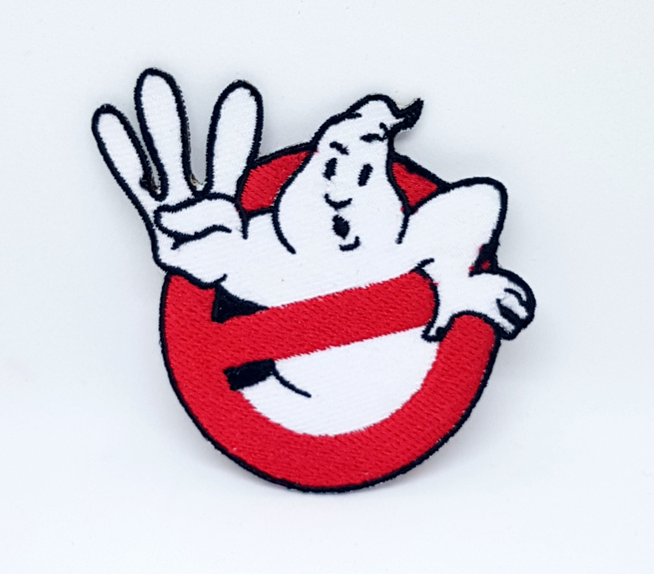 GHOSTBUSTERS LOGO Fancy Dress Iron Sew On Embroidered Patch - Patches-Badges