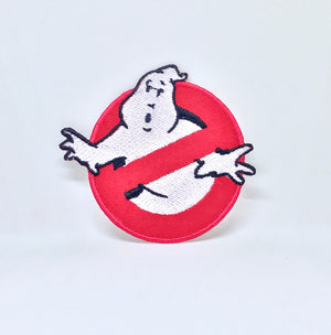 GHOSTBUSTERS Movie Fancy Dress logo Iron Sew On Embroidered Patch