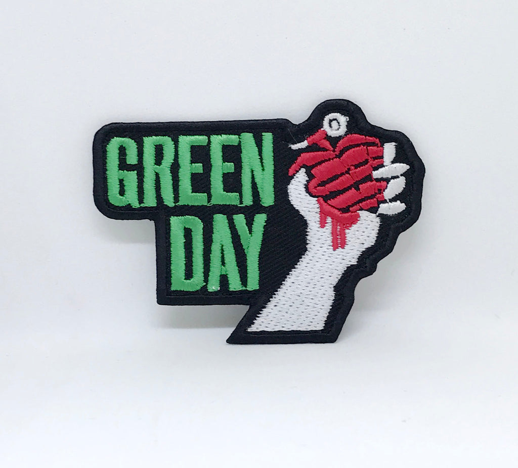 Punk heavy metal music Green Day Iron Sew on Embroidered Patch