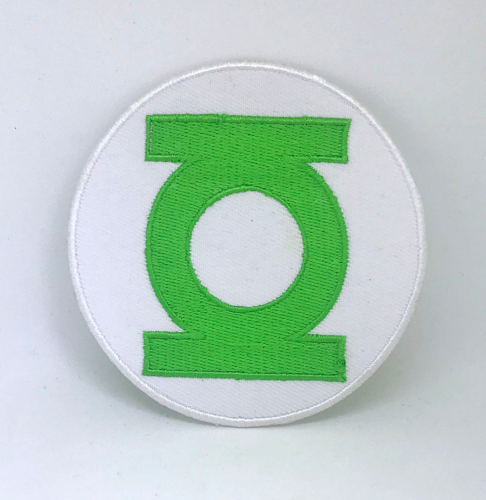 Green Lantern DC Comics Chest Iron on Sew on Embroidered Patch