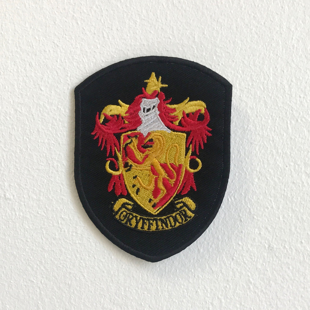 Gryffindor Shield badge Harry potter Iron Sew On Embroidered Patch