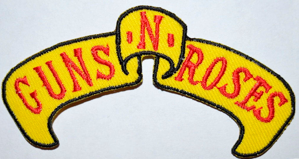 Guns and Roses Music band Iron on Sew on Embroidered Patch