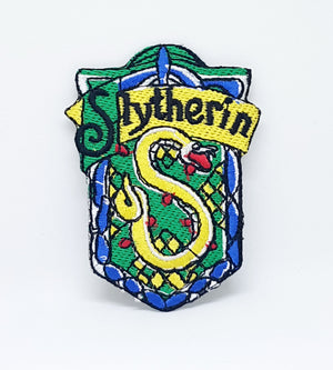 Harry Potter Slytherin Iron Sew on Embroidered Patch