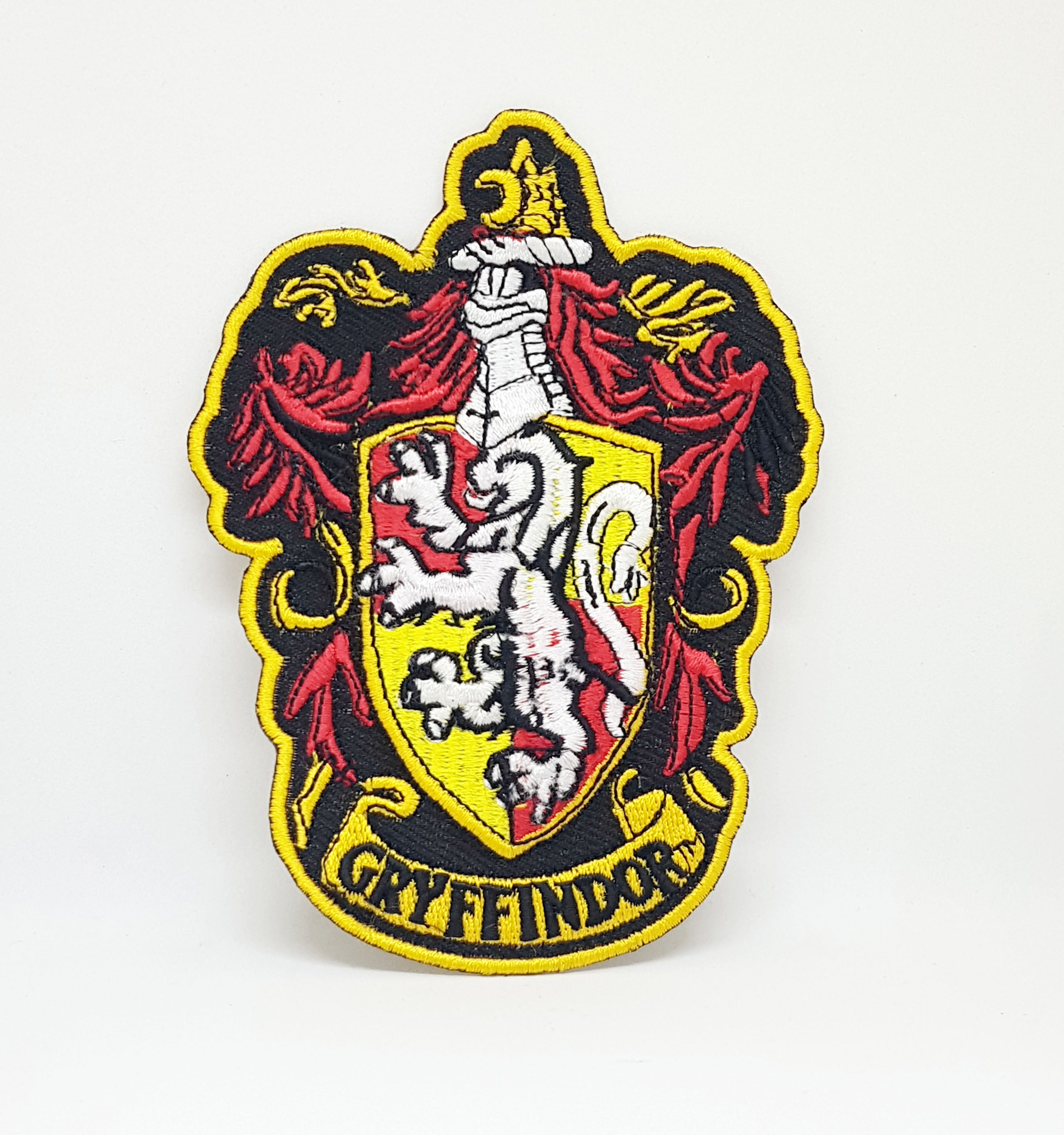 Harry Potter GRYFFINDOR Crest Iron Sew on Embroidered Patch - Patches-Badges