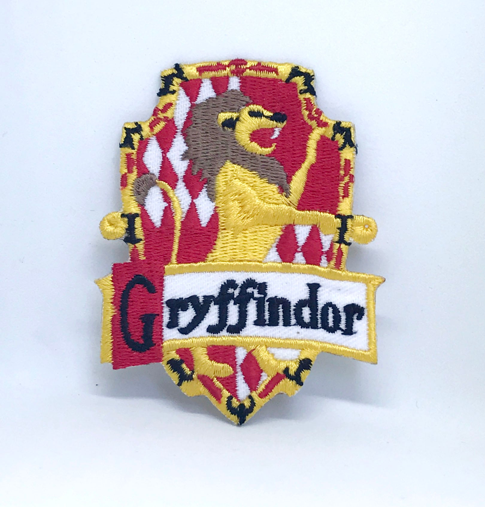 Harry Potter Gryffindor-B Iron Sew on Embroidered Patch - Patches-Badges