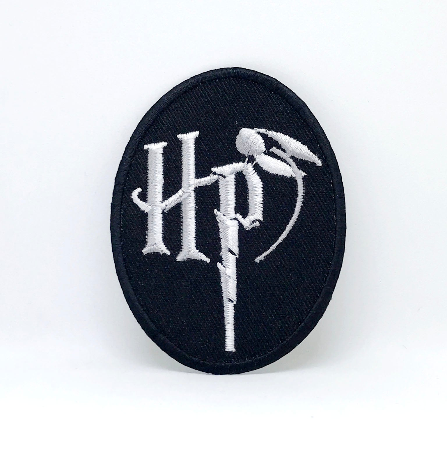 Harry Potter HP Badge Iron Sew on Embroidered Patch - Patches-Badges