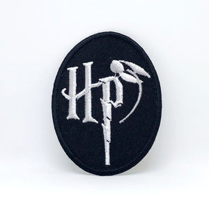 Harry Potter HP Badge Iron Sew on Embroidered Patch