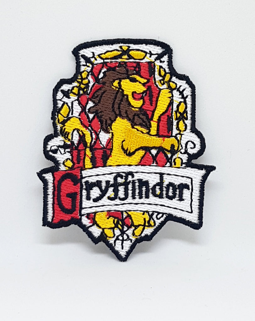 Harry Potter Gryffindor-A Iron Sew on Embroidered Patch