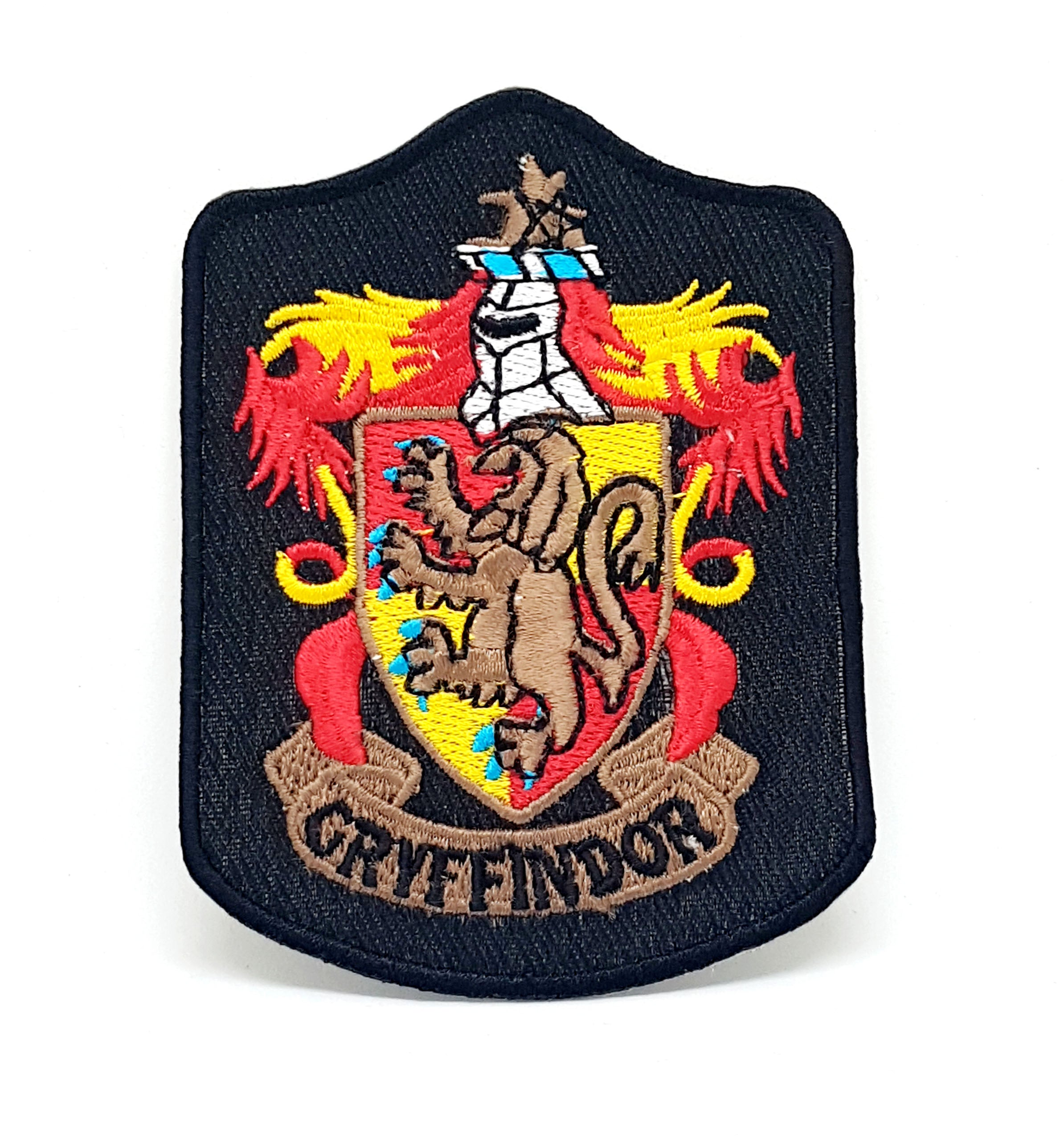 Harry Potter GRYFFINDOR Long Iron Sew on Embroidered Patch - Patches-Badges