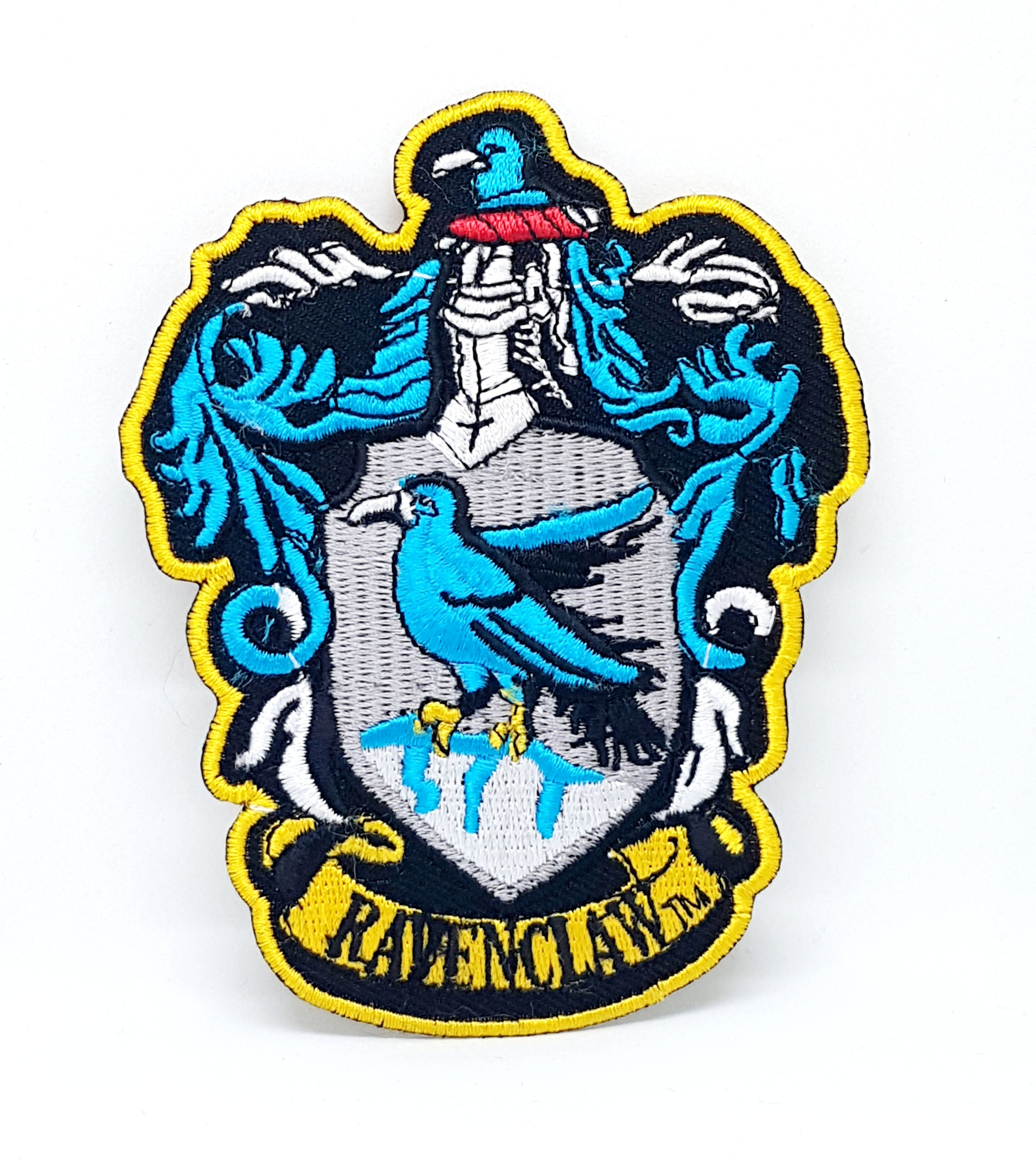 Harry Potter Ravenclaw Crest Shield Robe Iron Sew on Embroidered Patch