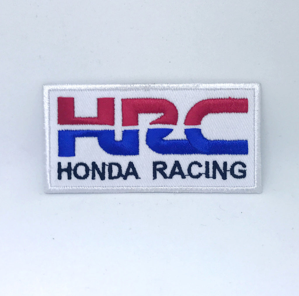 HRC Honda Racing Biker Jacket Iron on Sew on Embroidered Patch