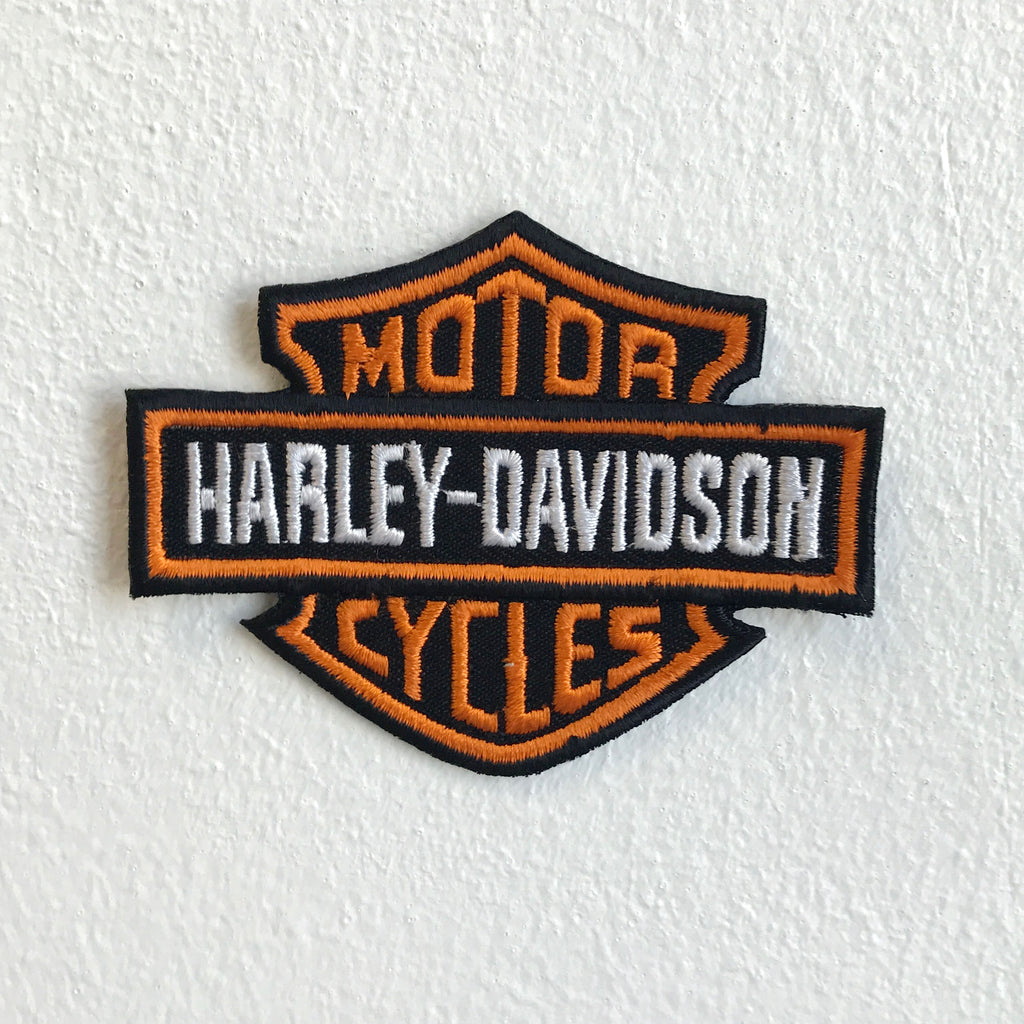 Harley Davidson Motorcycles Iron Sew on Embroidered Patch