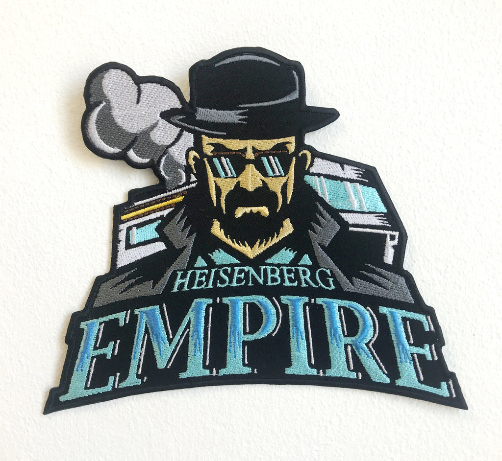 Heisenberg Empire Large Biker Jacket Back Sew On Embroidered Patch - Patches-Badges