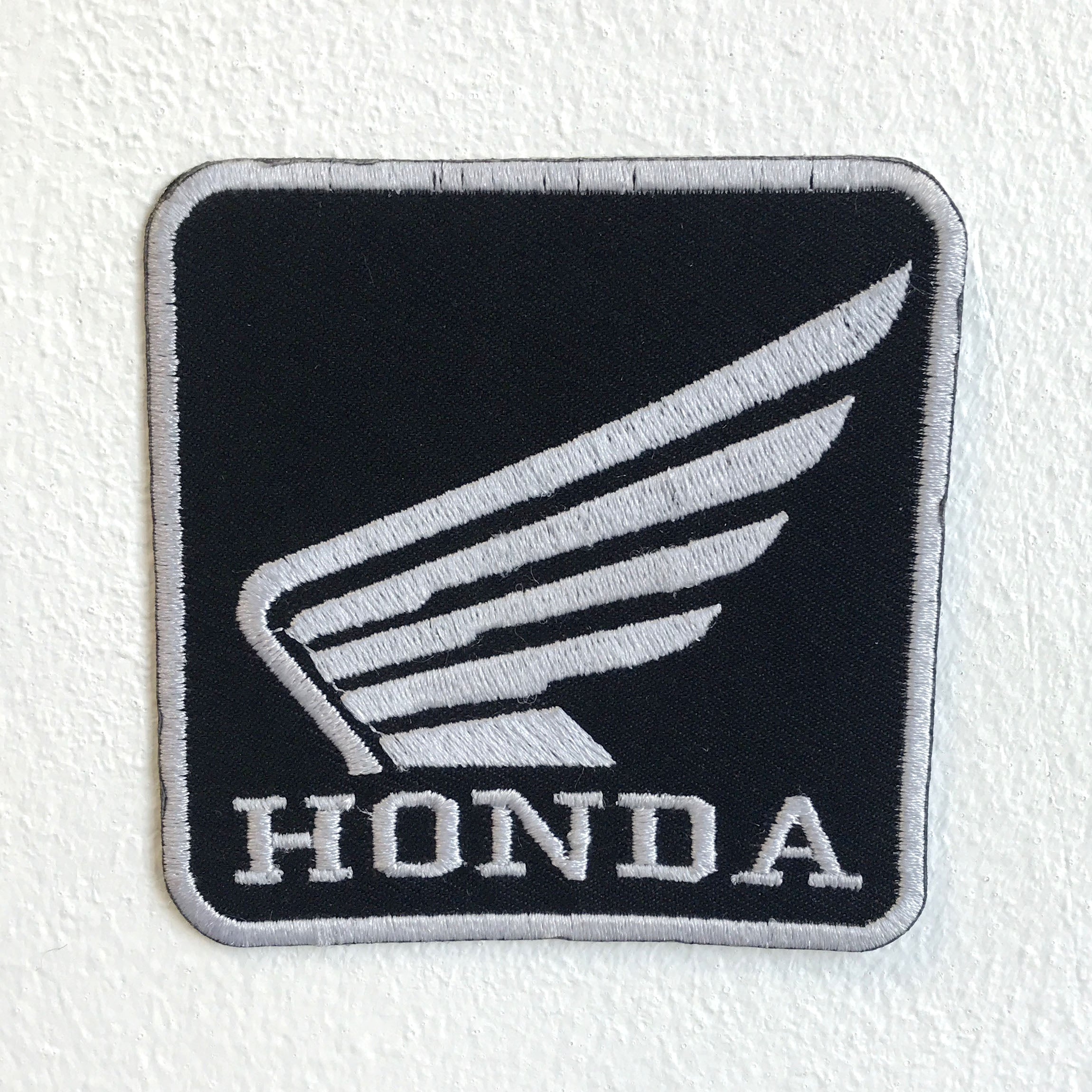 Honda Motorsports Racing Biker Iron Sew on Embroidered Patch - Patches-Badges