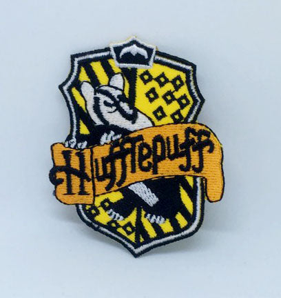 Hufflepuff House crest Harry Potter Iron on Sew on Embroidered Patch - Patches-Badges