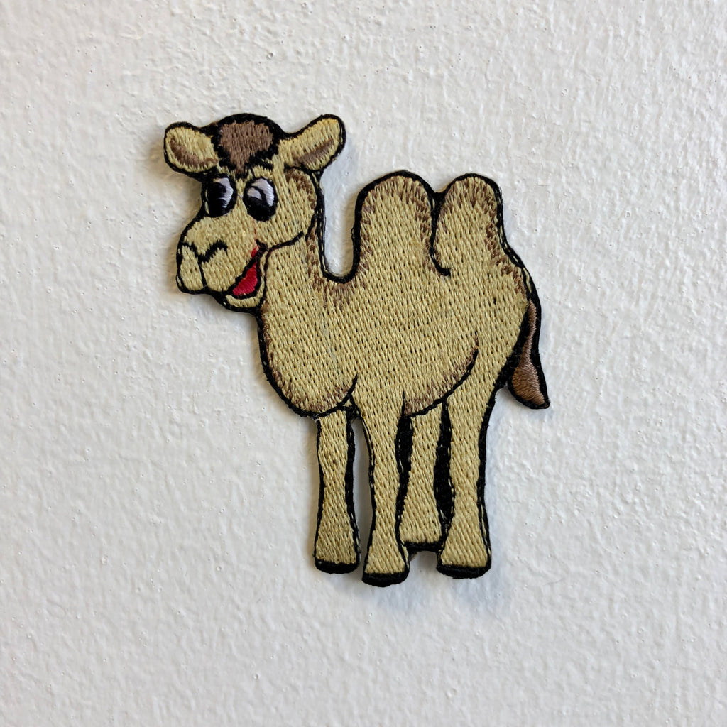 Cute Camel Animal Cartoon Kids Iron Sew on Embroidered Patch - Patches-Badges