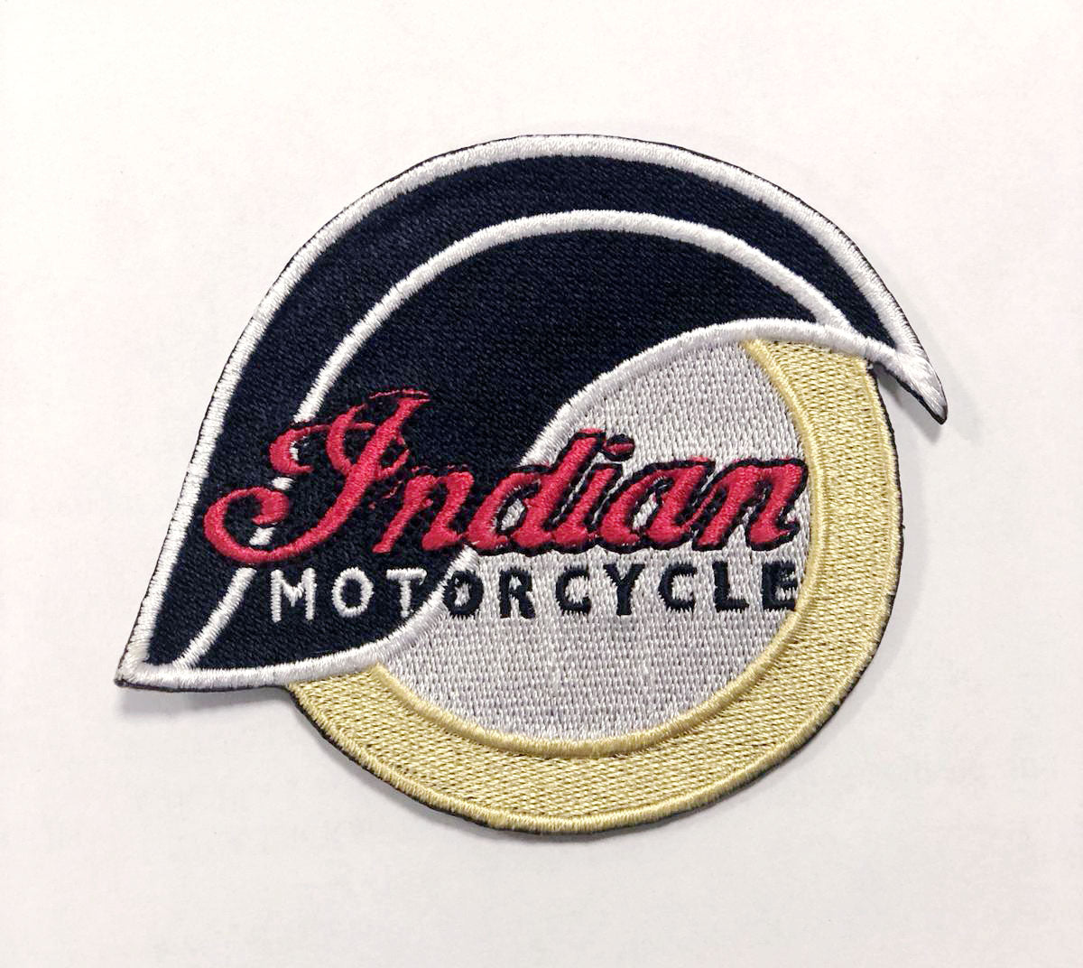 Indian Motorcycles 1901 Biker Racing Iron on Embroidered Patch