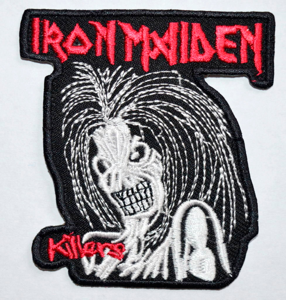 Iron Maiden Killers Emo Goth Punk Rock Biker Iron/Sew On Embroidered Patch