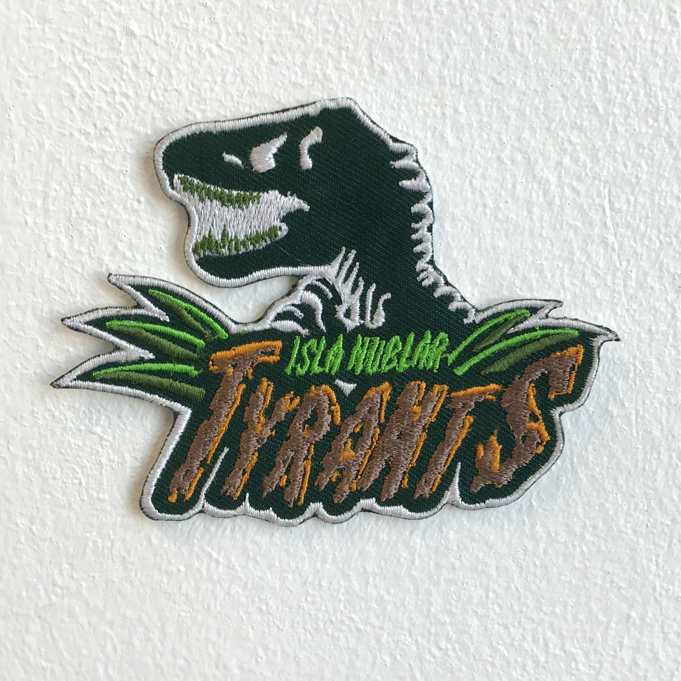 Isla Nublar Tyrants dinosaurs Iron Sew On Embroidered Patch - Patches-Badges