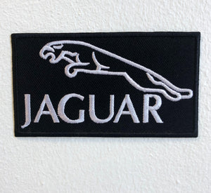 JAGUAR CAR Logo Iron on Sew on Embroidered Patch - Patches-Badges