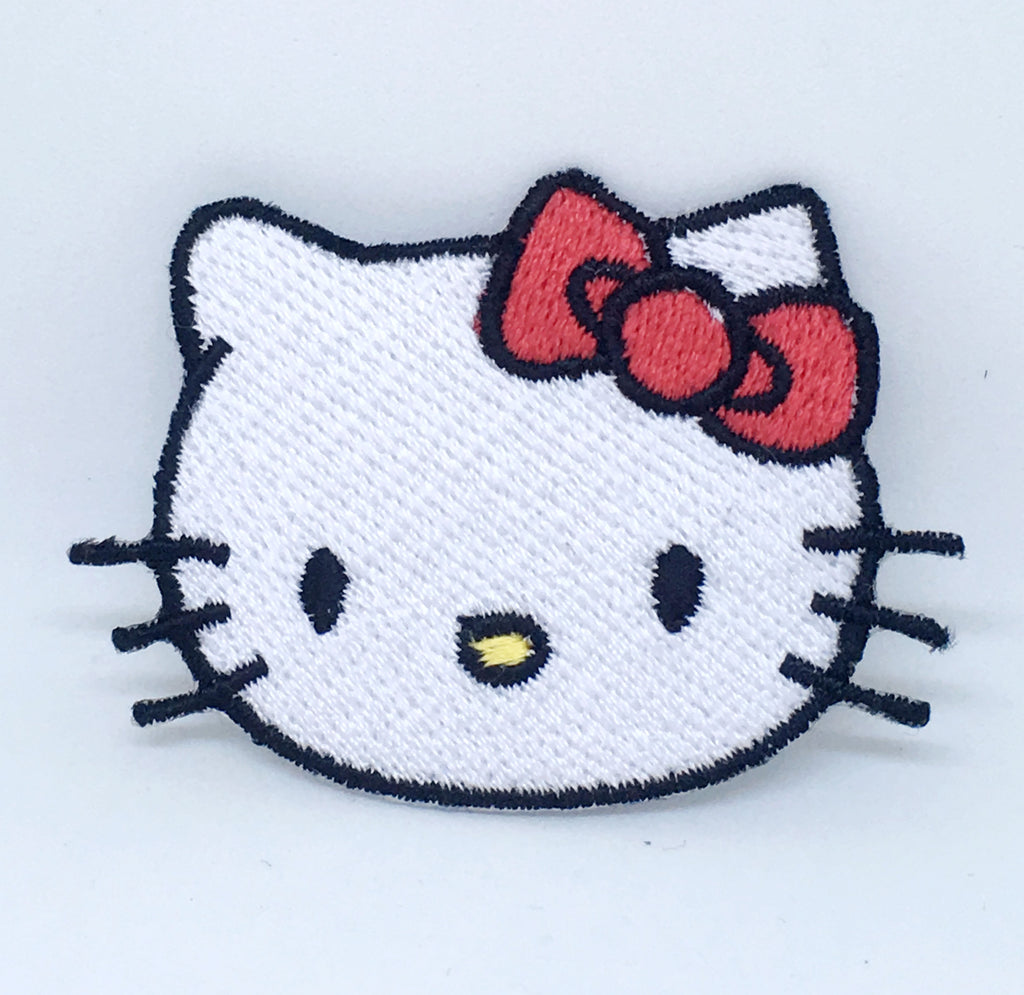 Animal dogs cats snakes honey bee bear spider lamb Iron/Sew on Patches - Hello Kitty - Patches-Badges