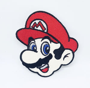 Super Mario Iron On-Sew On Patch-Badge Embroidered Fancy Dress