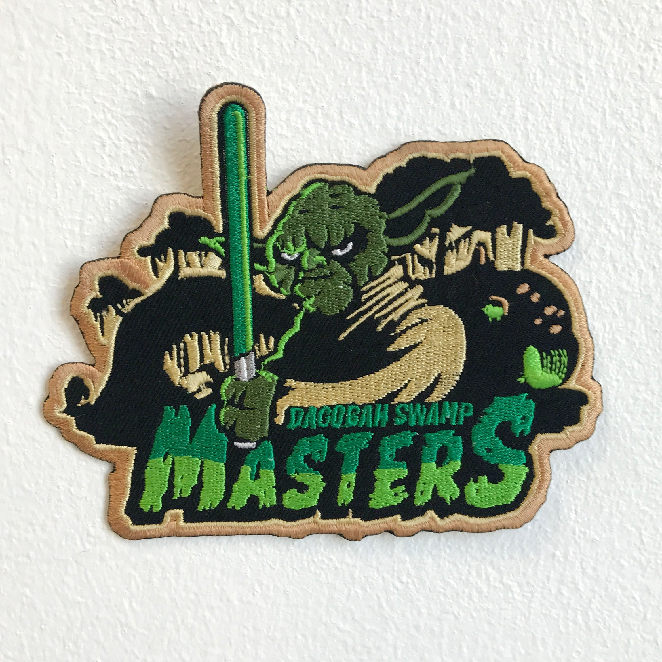 Dagobah Swamp Monster Star Wars Iron Sew on Embroidered Patch