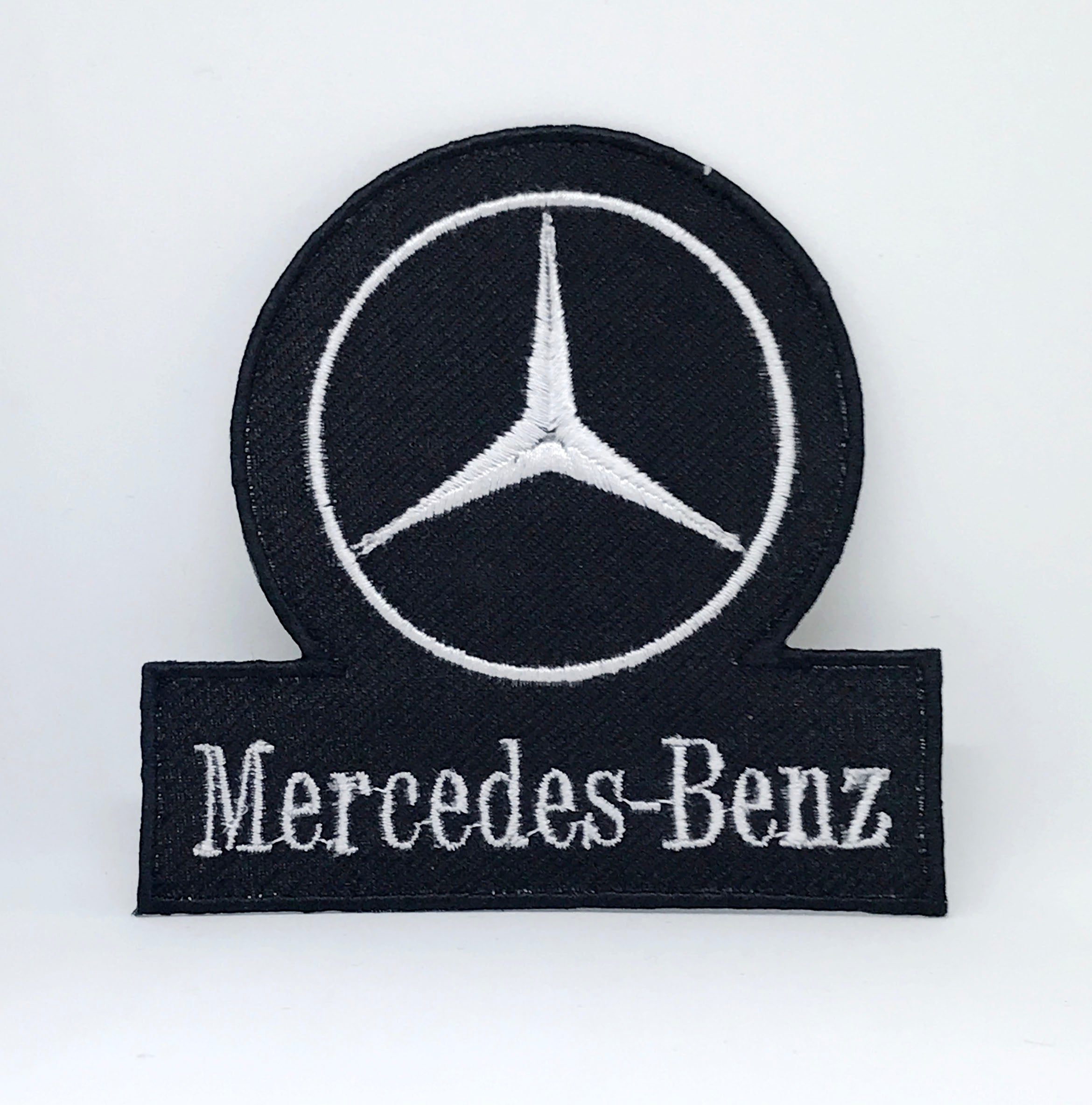 Vintage Mercedes-Benz Racing Formula 1 Biker Iron Sew on Embroidered Patch