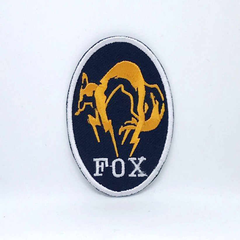 Metal Gear Solid Kojima Foxhound Fox Hound Iron on Sew on Embroidered Patch