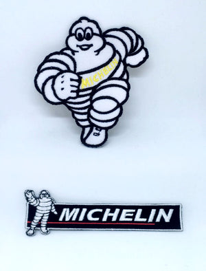 Michelin Tyre logo jacket Iron on Sew on Embroidered Patch