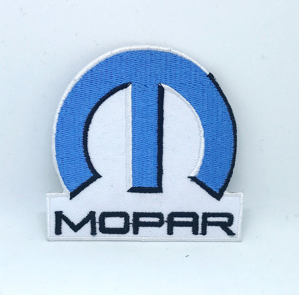 Mopar parts Accessories Automobile Iron on Sew on Embroidered Patch