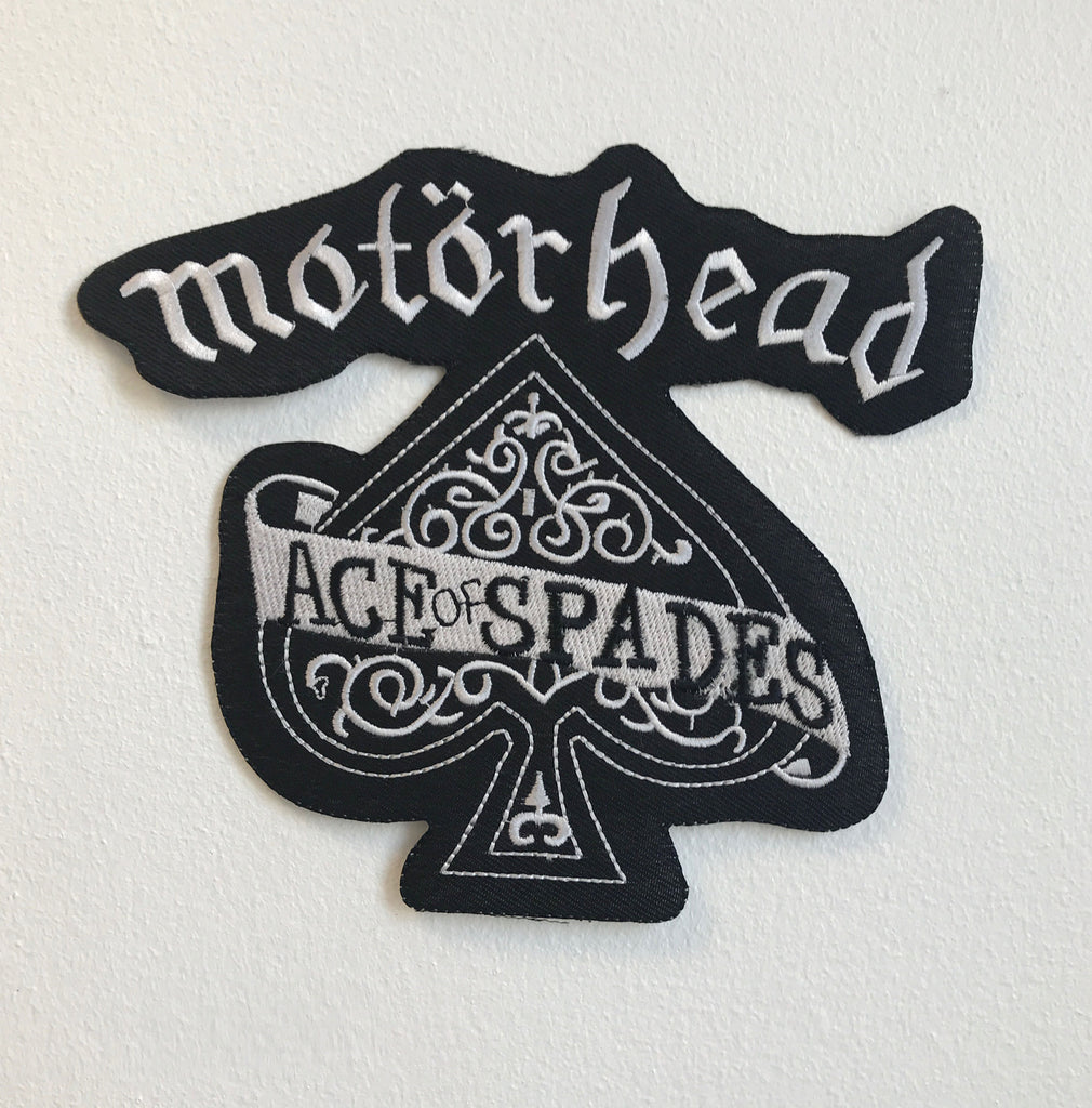 MOTORHEAD ACE OF SPADES Large Biker Jacket Back Sew On Embroidered Patch
