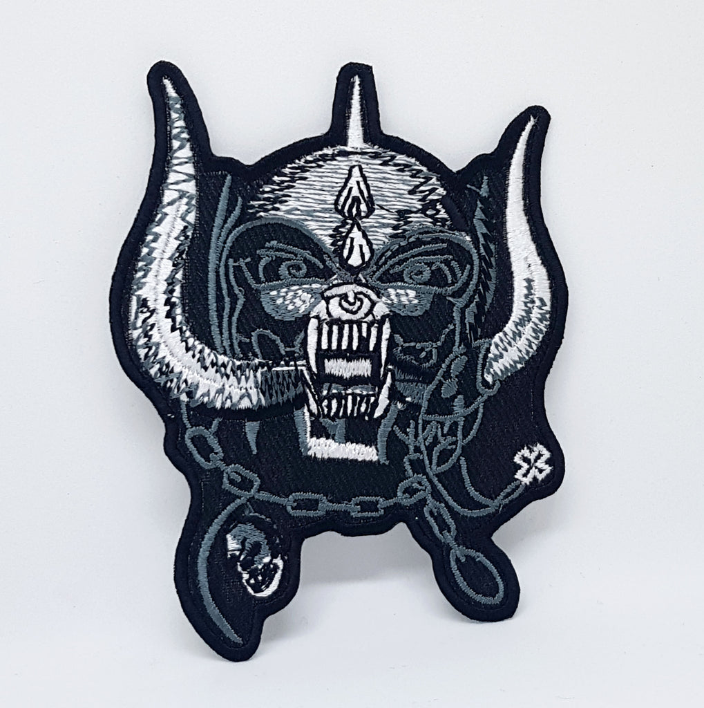 Motorhead Band Rock Metal Music Iron/Sew on Embroidered Patch Collection - Motorhead Skull