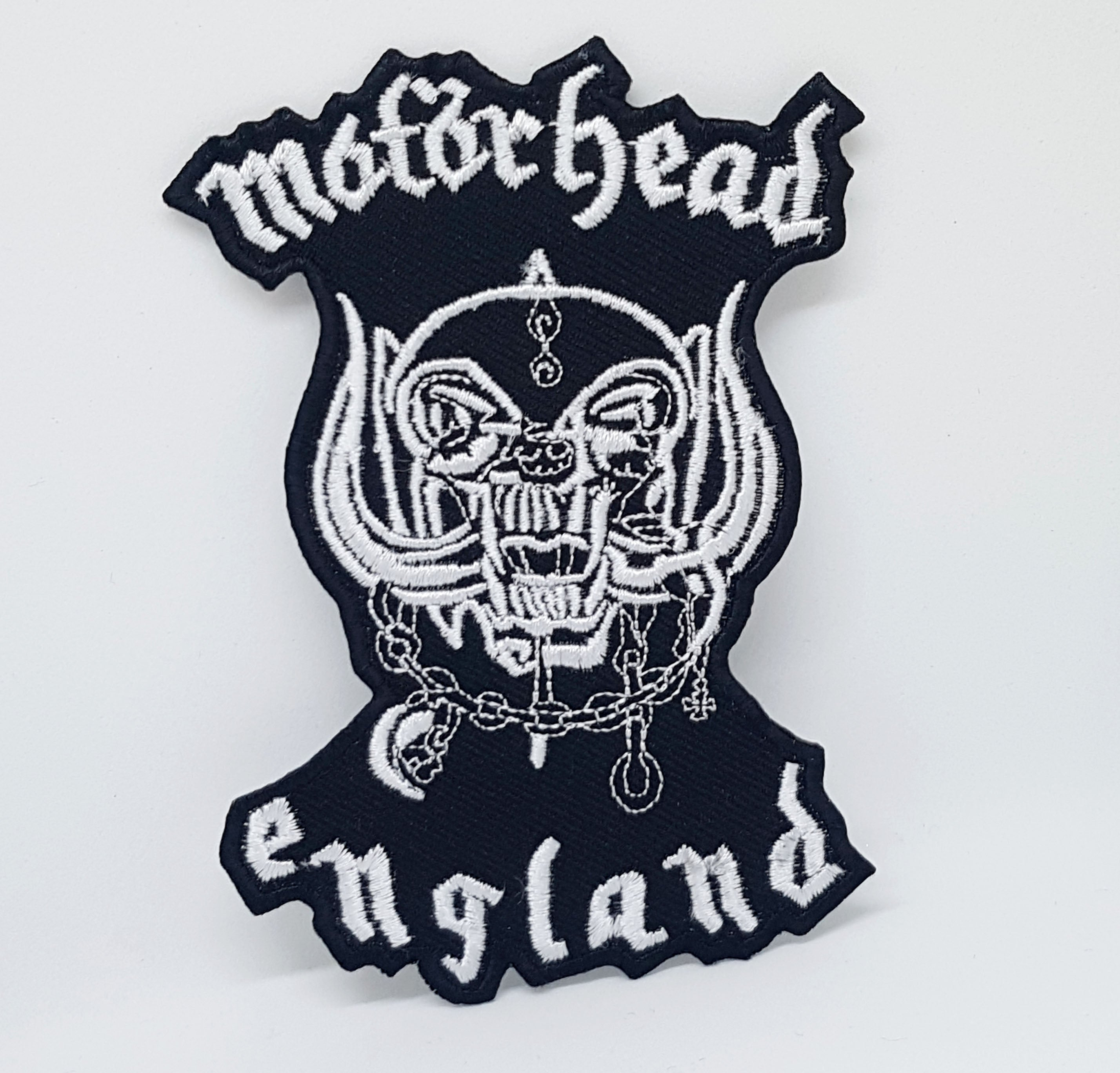 Motorhead Band Rock Metal Music Iron/Sew on Embroidered Patch Collection - Motorhead England