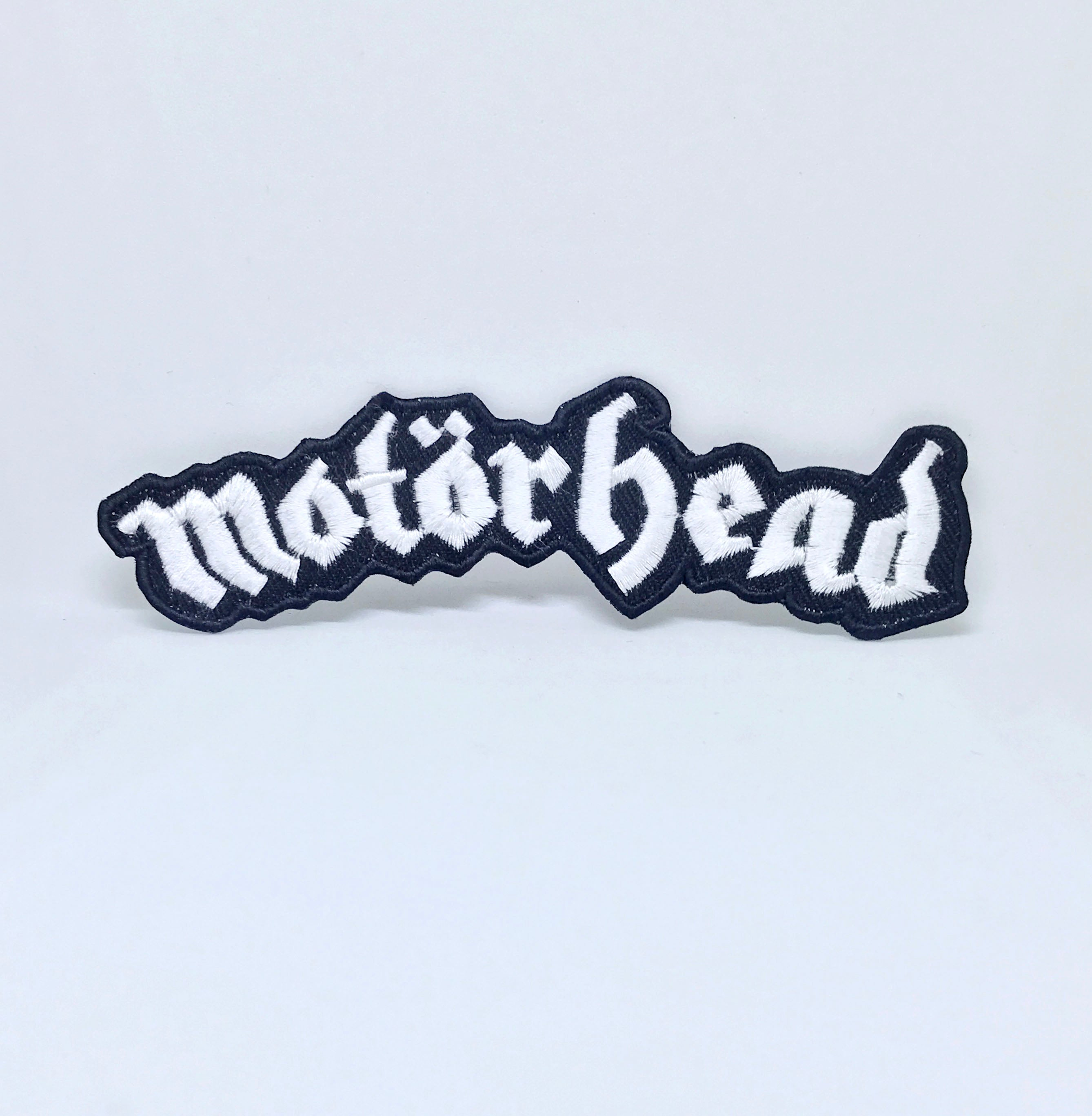 Motorhead Band Rock Metal Music Iron/Sew on Embroidered Patch Collection - Motorhead Logo Large