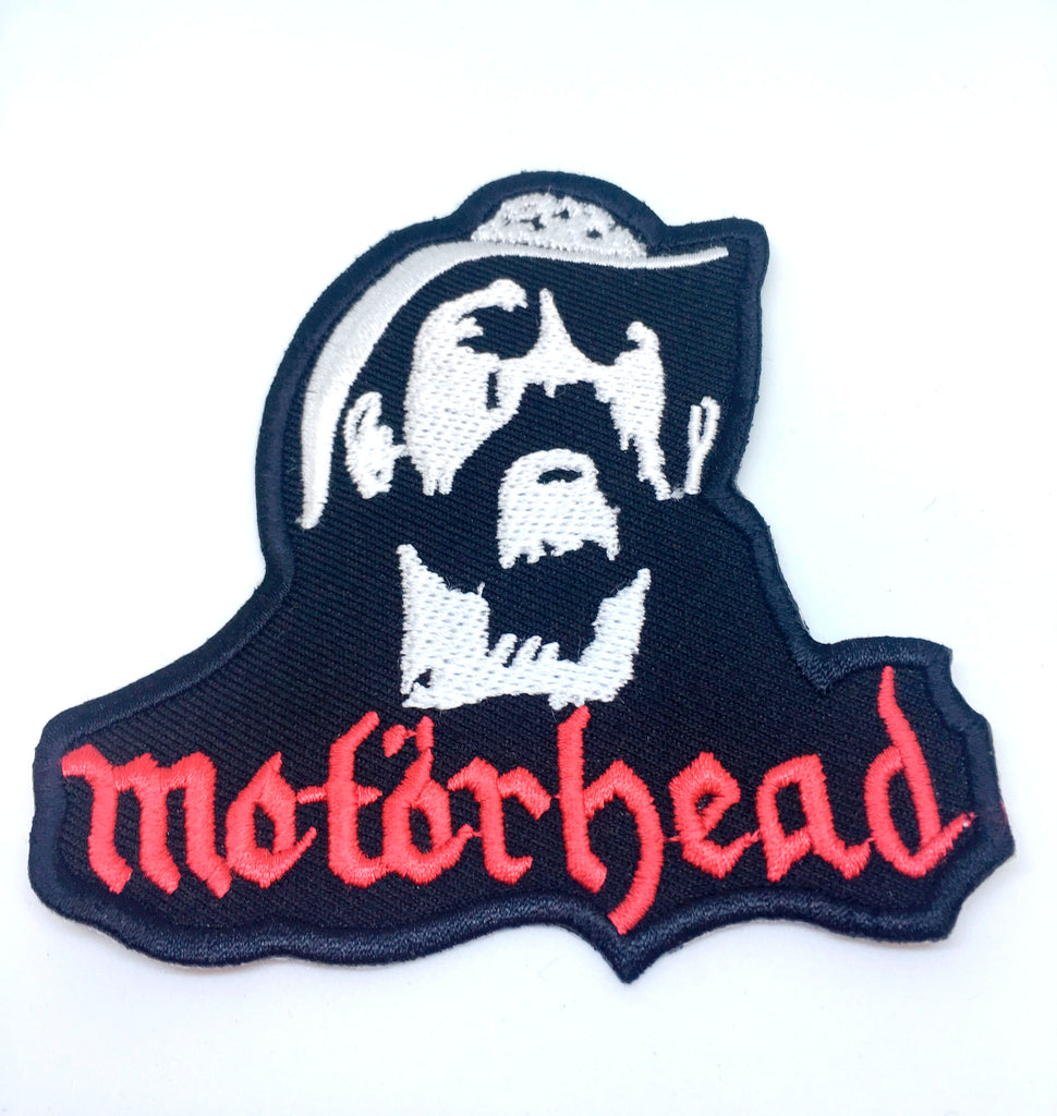 Motorhead Band Rock Metal Music Iron/Sew on Embroidered Patch Collection - Motorhead Lemmy Face