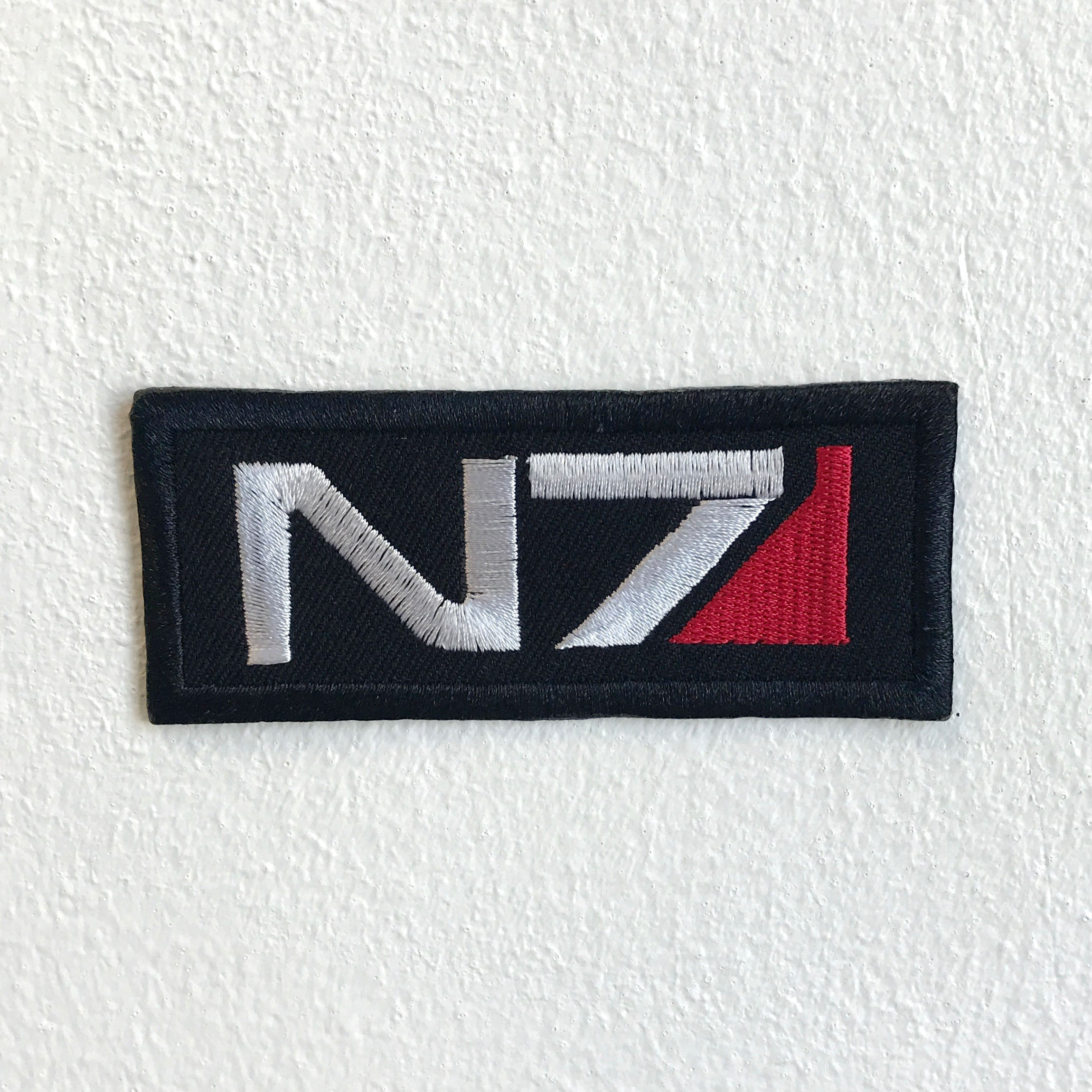 Alliance Military Systems N7 Badge logo Iron Sew on Embroidered Patch - Patches-Badges
