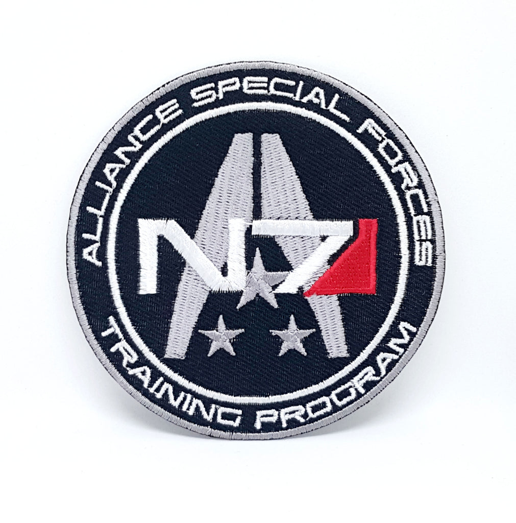 N7 Alliance special forces Video game Iron/Sew on Embroidered Patch
