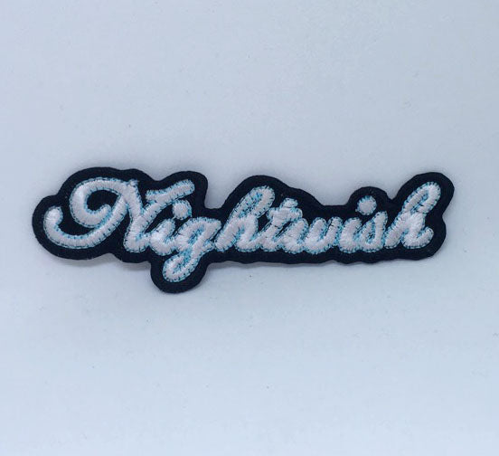 Nightwish metal rock band logo Iron Sew on Embroidered Patch