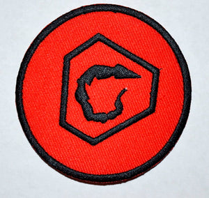 Command & Conquer NOD Original Iron on Sew on Embroidered Patch - Patches-Badges