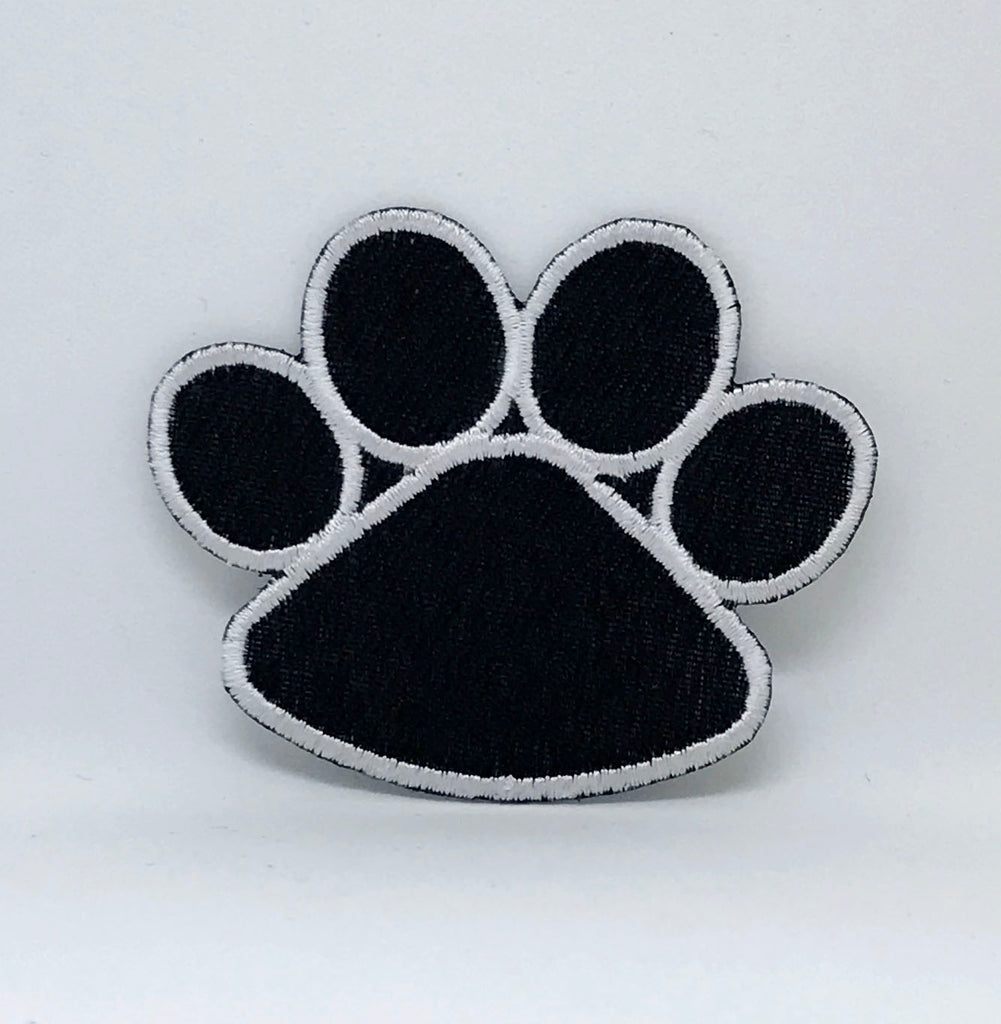 Animal dogs cats snakes honey bee bear spider lamb Iron/Sew on Patches - Bear's Paw - Patches-Badges