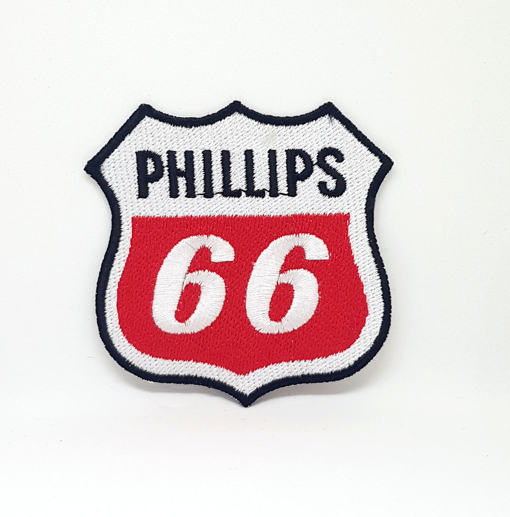 PHILLIPS 66 Gasoline Petroleum Oil Iron Sew on Embroidered Patch