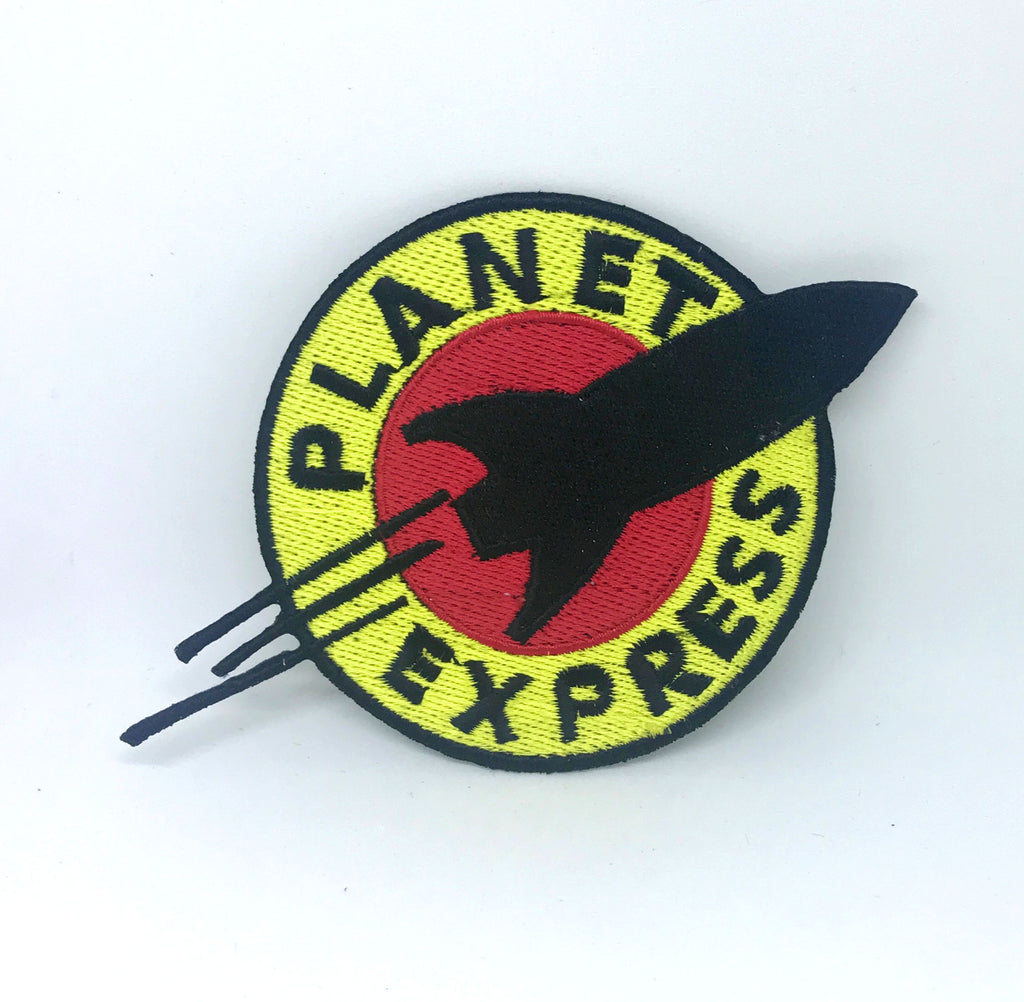 Futurama Planet Express Ship Crew Logo Iron On Sew on Embroidered Patch