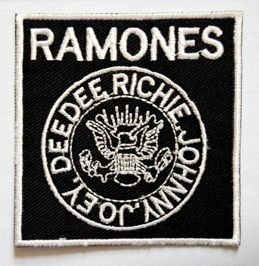 Ramones American punk Rock Band Sew on Iron on Embroidered Patch