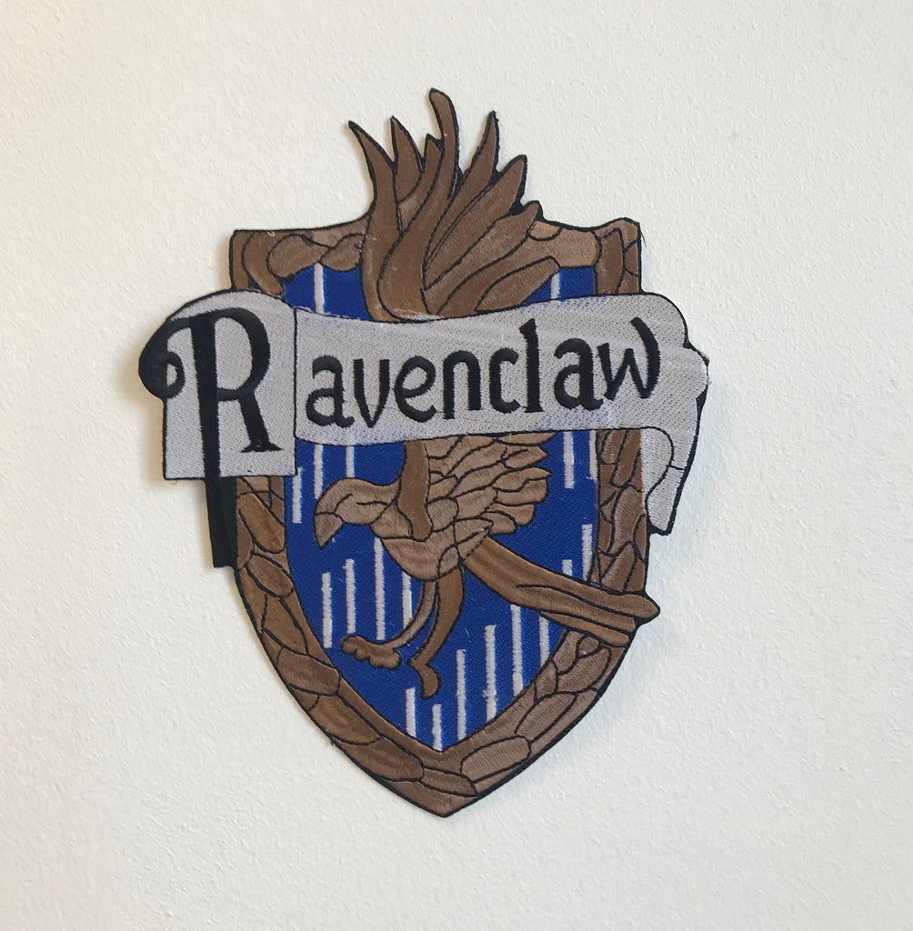 Ravenclaw Harry Potter Large Biker Jacket Back Sew On Embroidered Patch