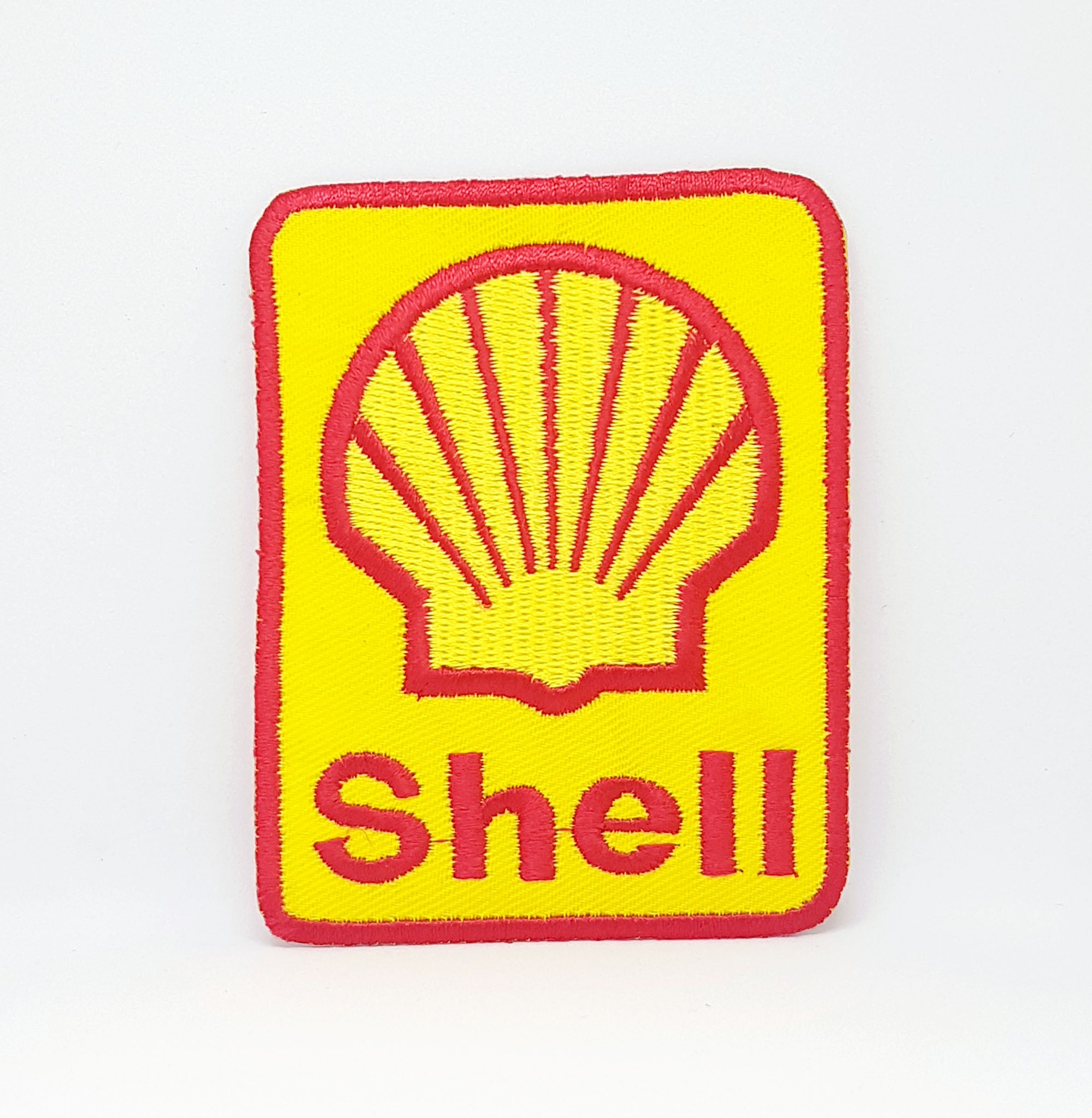 Shell Petrolium Petrol oil Iron Sew on Embroidered Patch