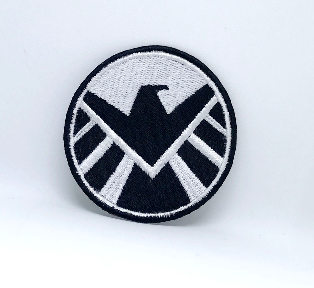 Comic  Marvel Avengers and DC Comics Iron or Sew on Embroidered Patches -SHIELD - Patches-Badges