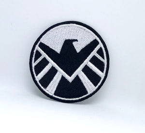 Comic  Marvel Avengers and DC Comics Iron or Sew on Embroidered Patches -SHIELD
