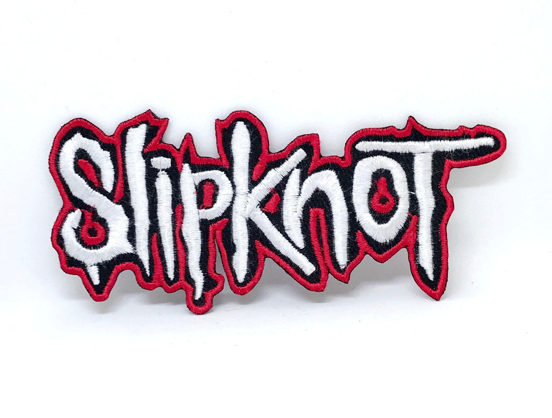 Slipknot Metal Music band logo collection Iron on Sew on Embroidered Patches