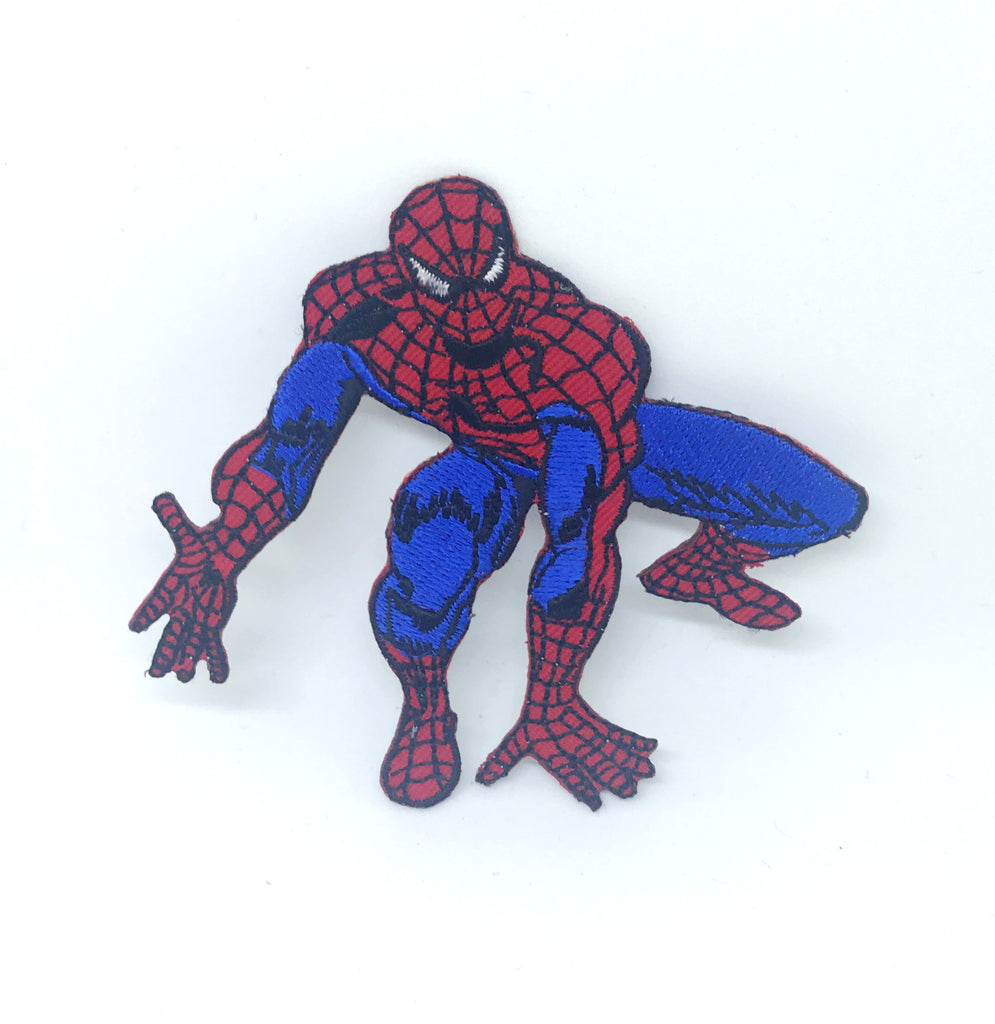SPIDERMAN ready to jump Iron Sew On Patch Embroidered Marvel Badge